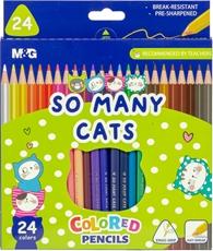 Picture of M&G DRVENE BOJE SO MANY CATS 1/24